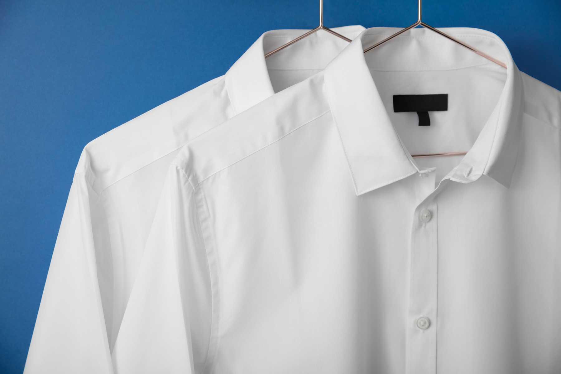 как отбелить рубашку