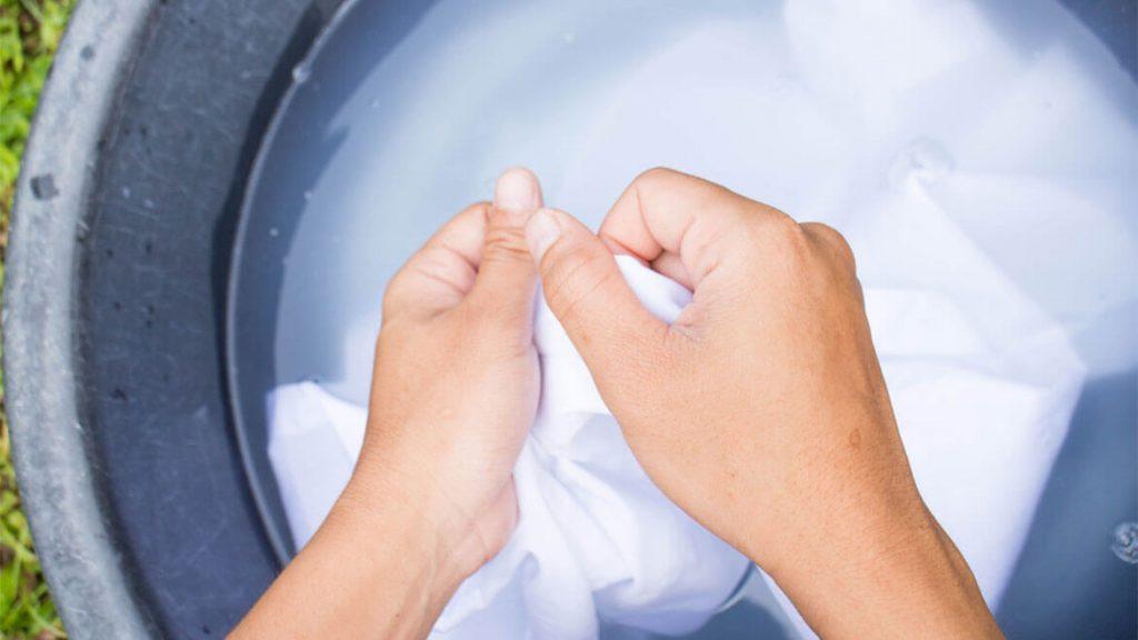 как отбелить одежду